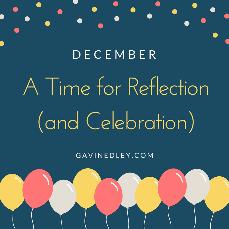 December, a time for reflection